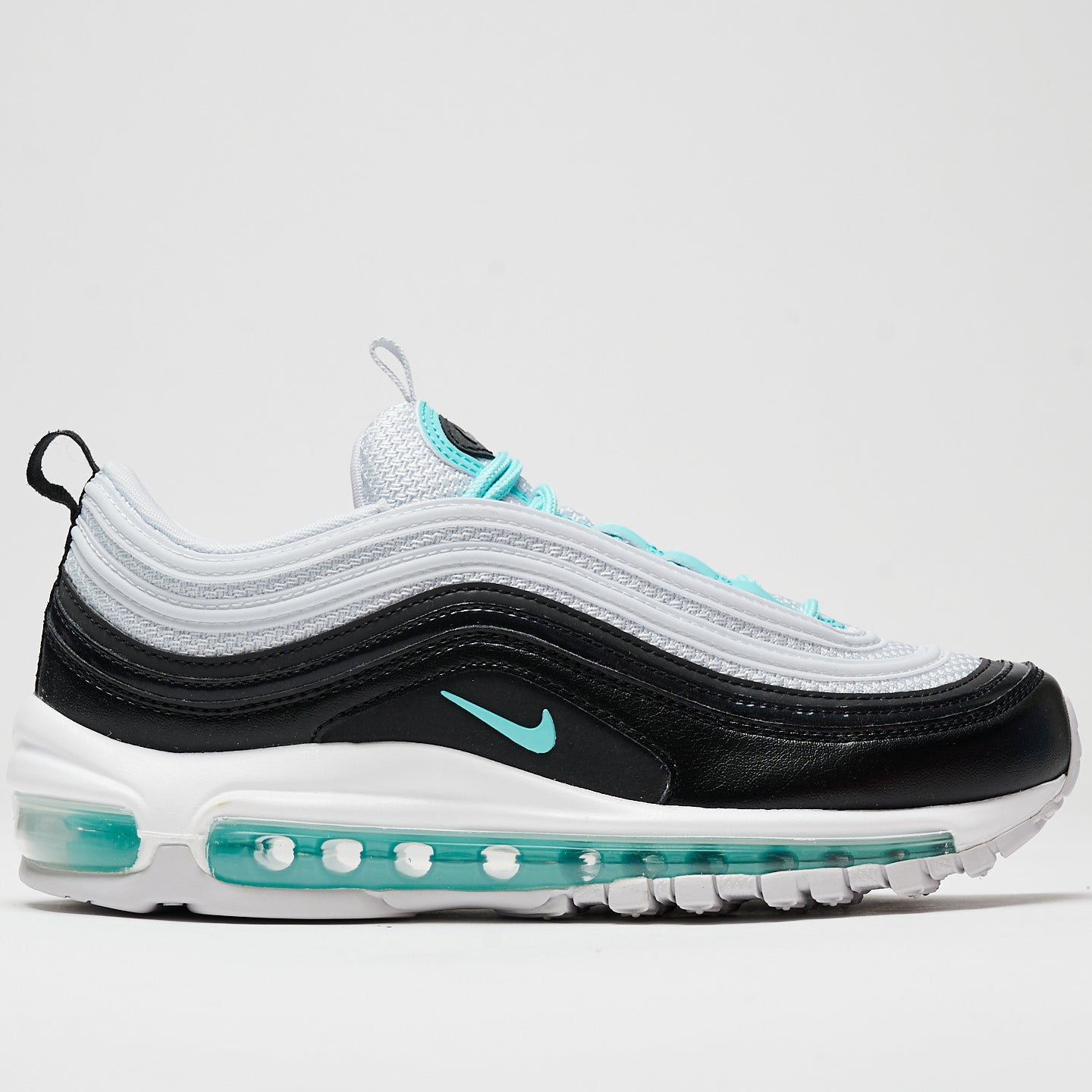 NIKE W'S FOOTWEAR AIR MAX 97 - PURE PLATINUM/AURORA GREEN