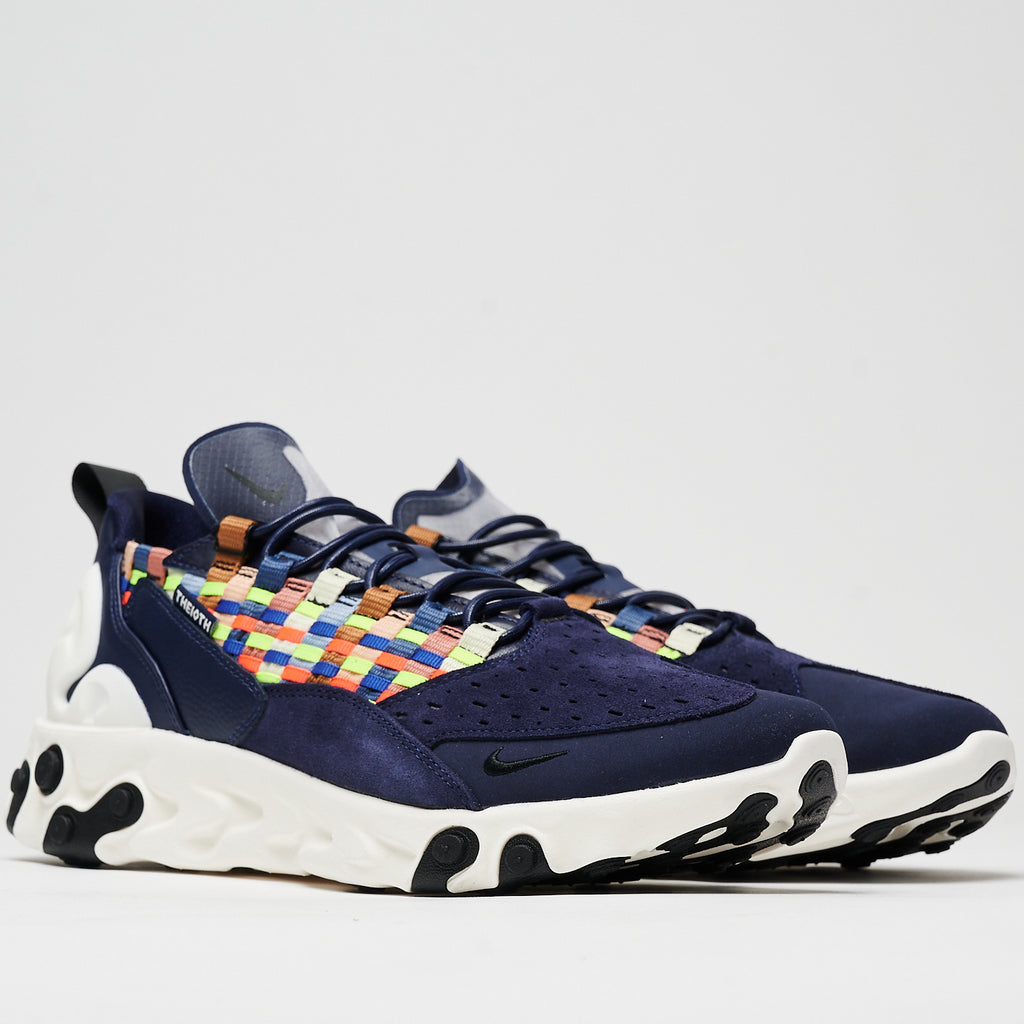 NIKE REACT SERTU - BLACKENED BLUE/BLACK-SAIL
