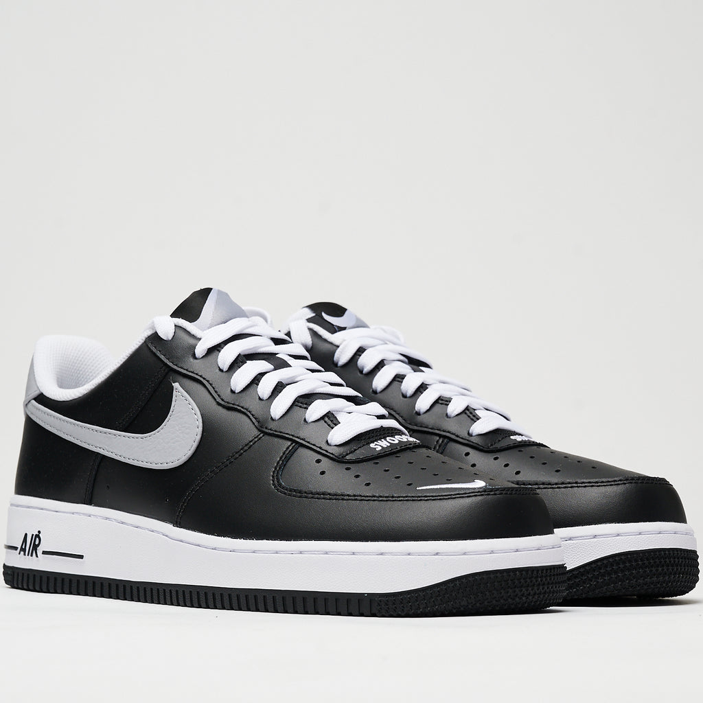 AIR FORCE 1 '07 LV8 4 - BLACK/WOLF GREY-WHITE