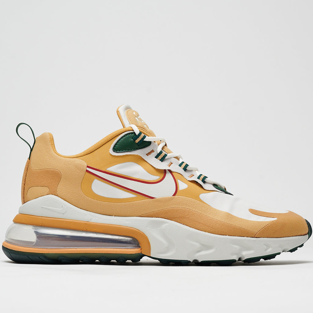 AIR MAX 270 REACT - CLUB GOLD/LIGHT BONE-FLT GOLD