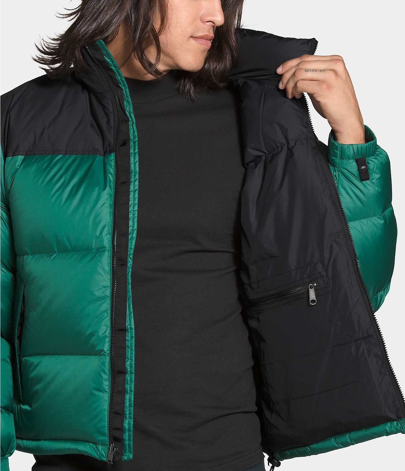 THE NORTH FACE M'S OUTDOOR JKT 1996 RETRO NUPTSE JACKET - EVERGREEN