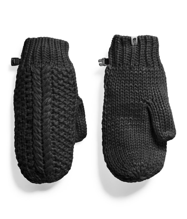 THE NORTH FACE W'S MITTS Blk XS/S CABLE MINNA MITT
