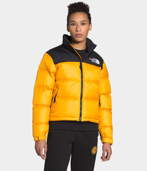 THE NORTH FACE W'S OUTDOOR JKT W 1996 RETRO NUPTSE JACKET - SUMMIT GOLD