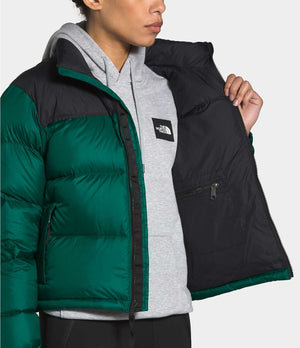 THE NORTH FACE W'S OUTDOOR JKT W 1996 RETRO NUPTSE JACKET - EVERGREEN