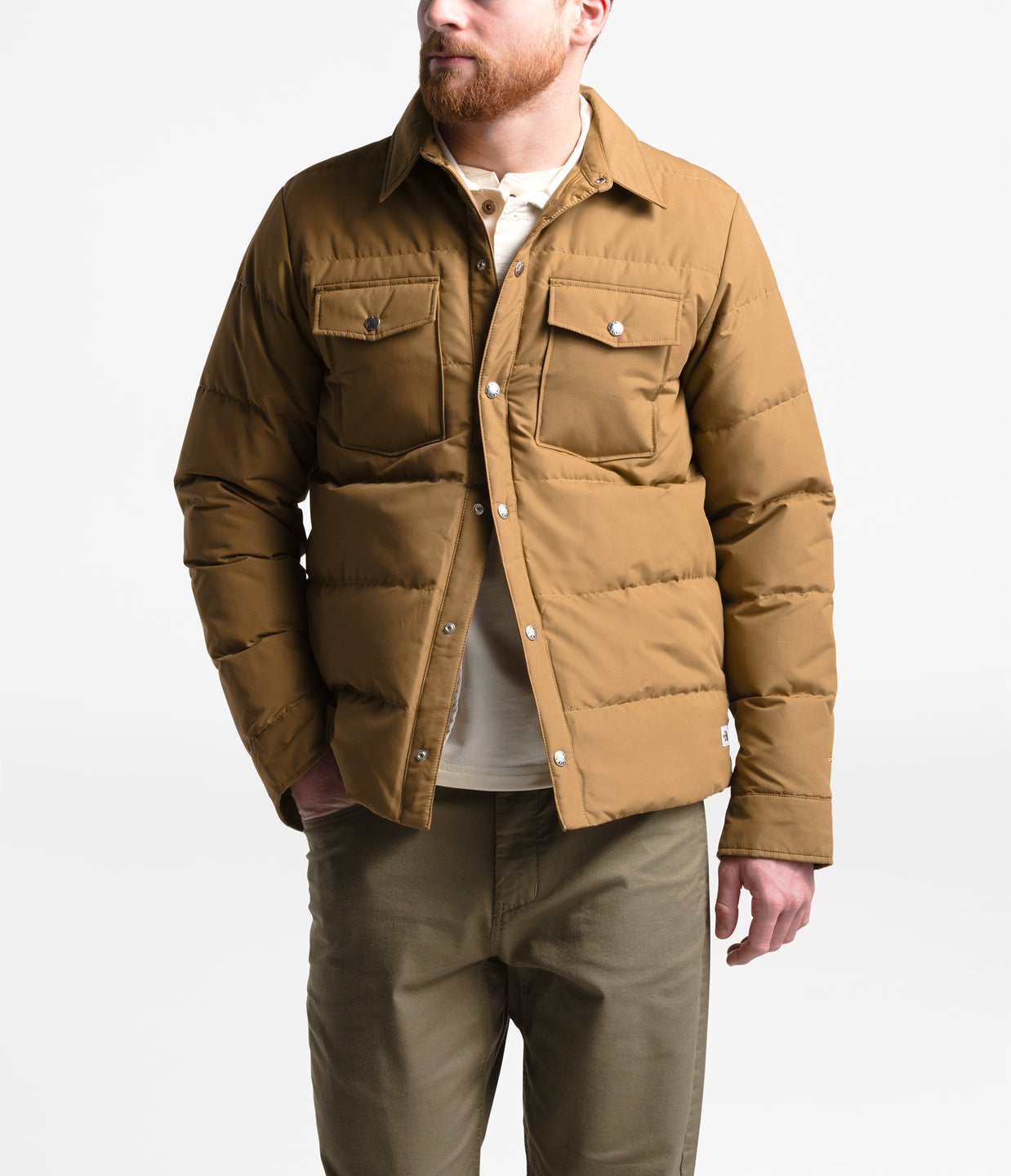 DOWN SIERRA SNAP JACKET