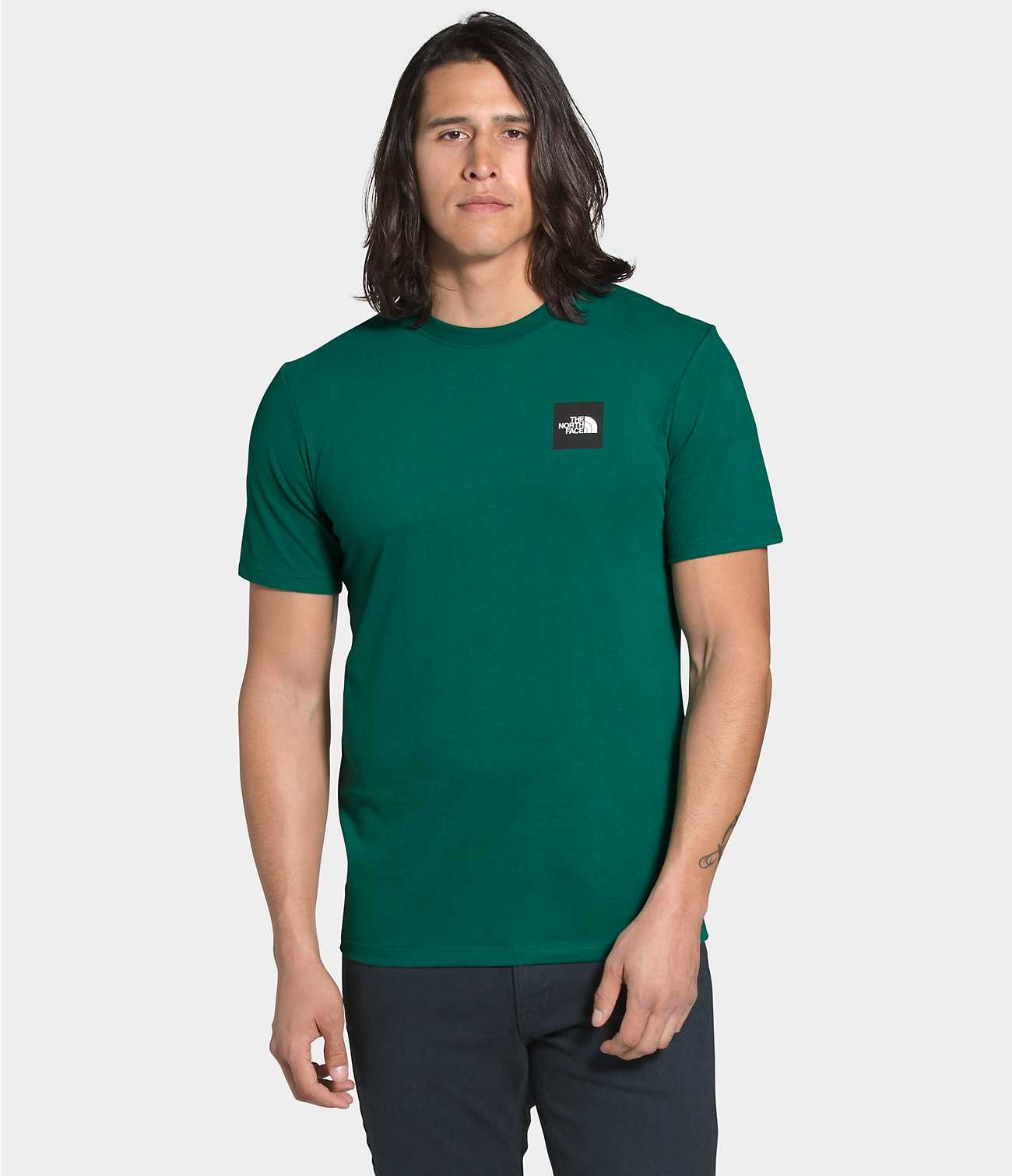 THE NORTH FACE M'S T-SHIRTS SHORT SLEEVE BOX TEE