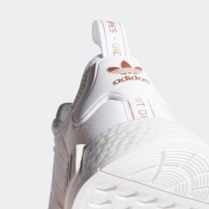 ADIDAS W'S FOOTWEAR NMD_R1 - CLOUD WHITE/ROSE GOLD METALLIC