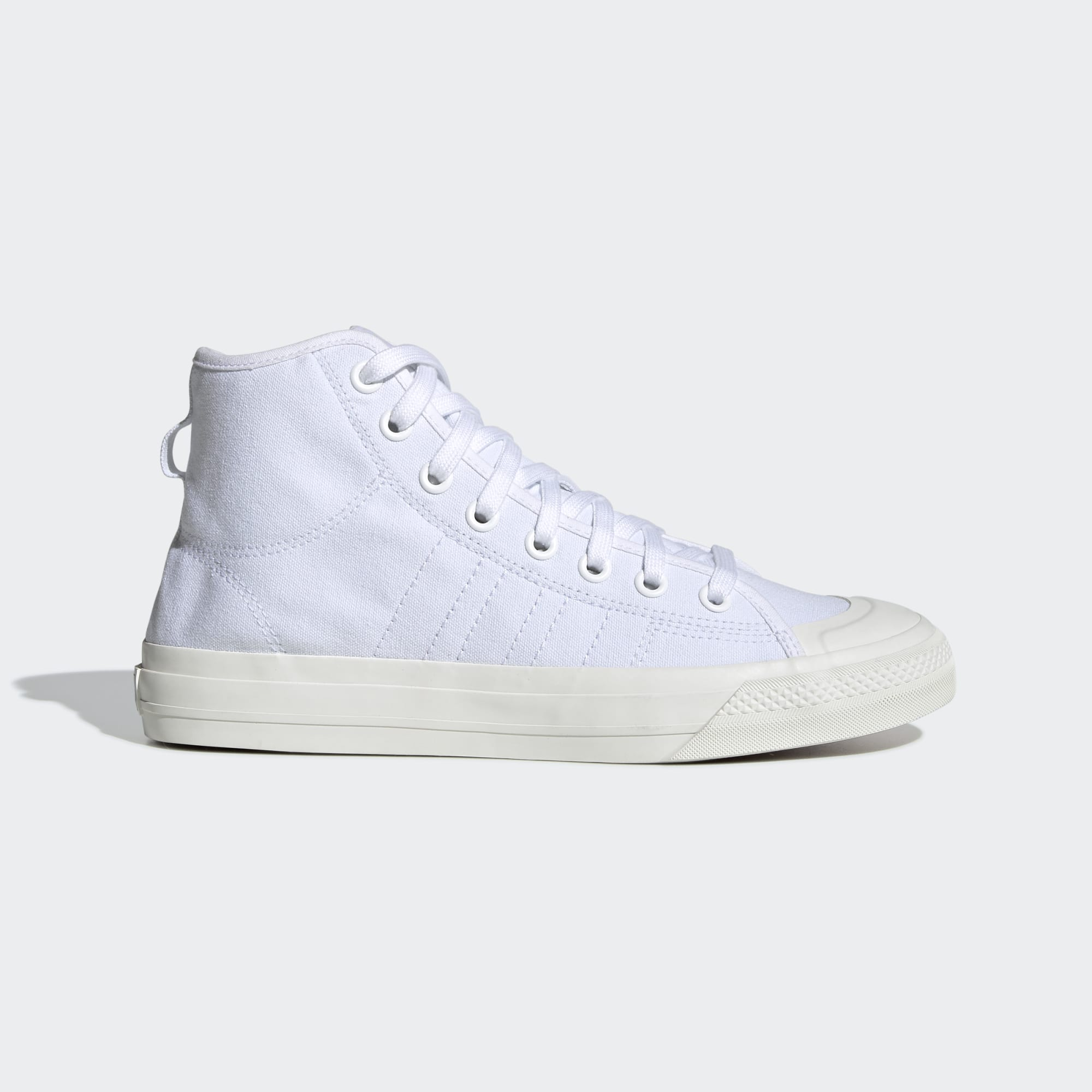ADIDAS M'S FOOTWEAR NIZZA HI RF - CLOUD WHITE