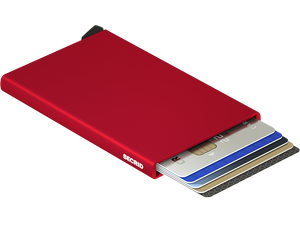 SECRID WALLETS CARDPROTECTOR RED