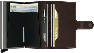 SECRID WALLETS MINIWALLET ORIGINAL DARK BROWN