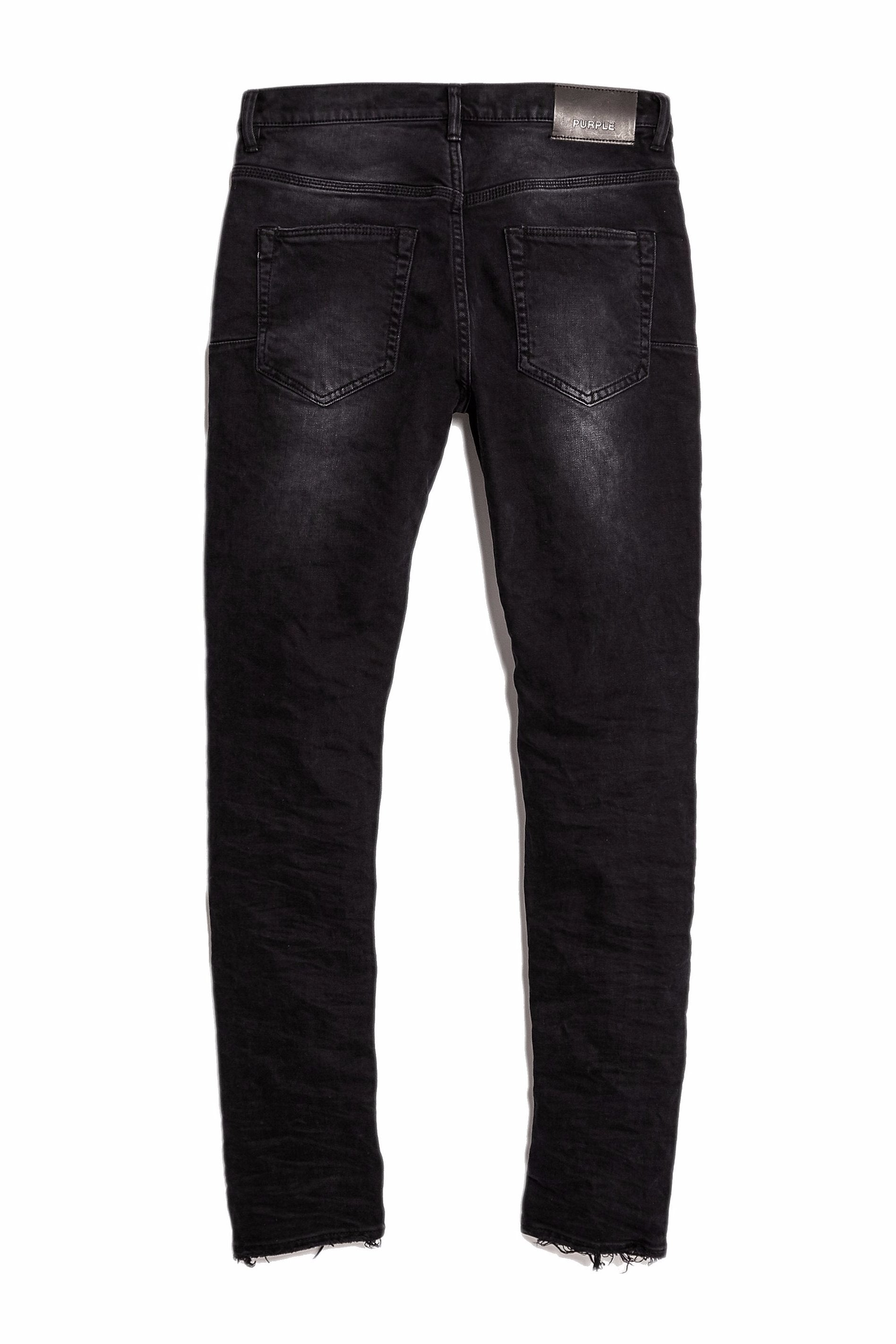P002 MID RISE WITH TAPERED LEG - BLACK REPAIR
