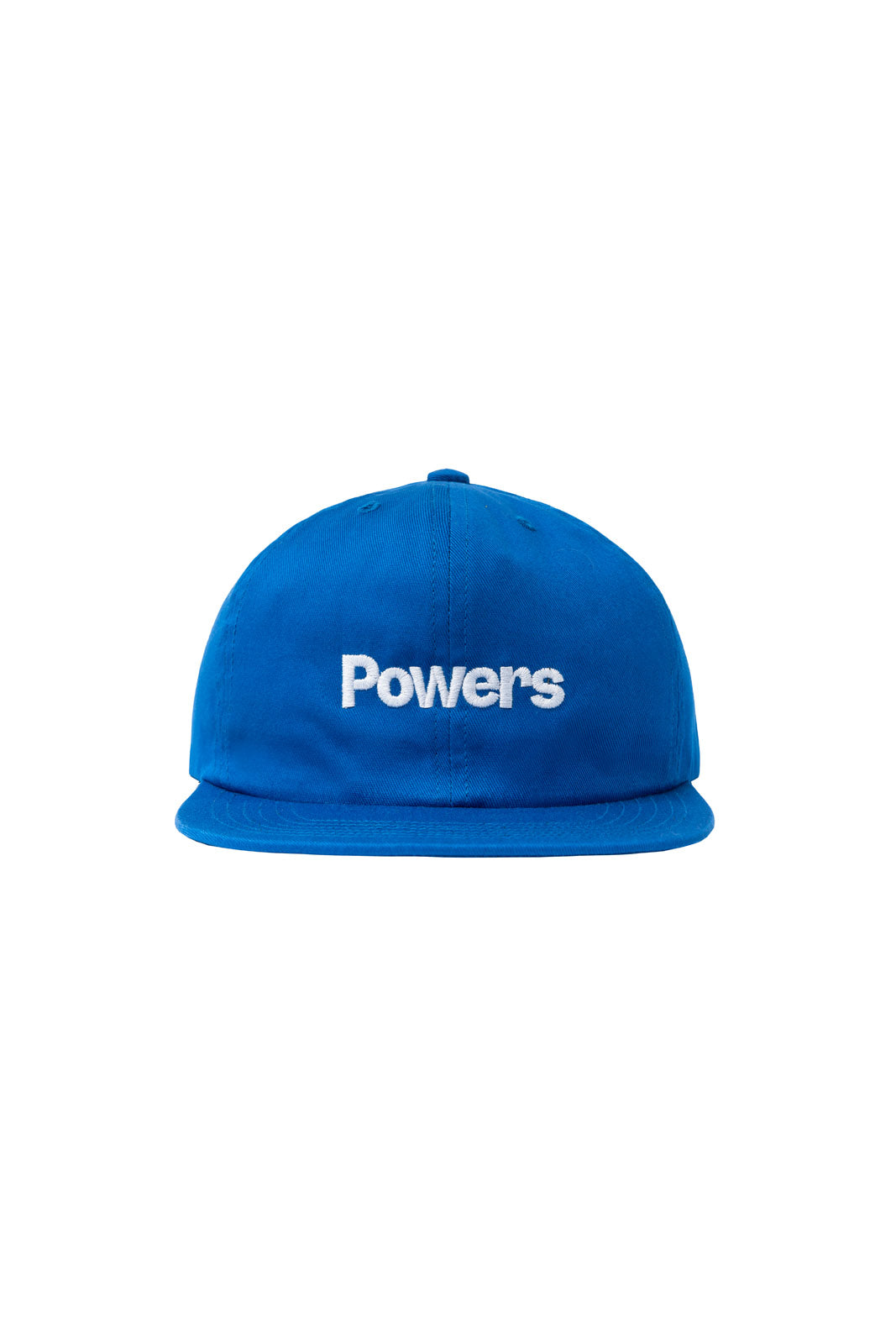 POWERS SUPPLY HATS LOGO 6 PANEL CAP - BLUE