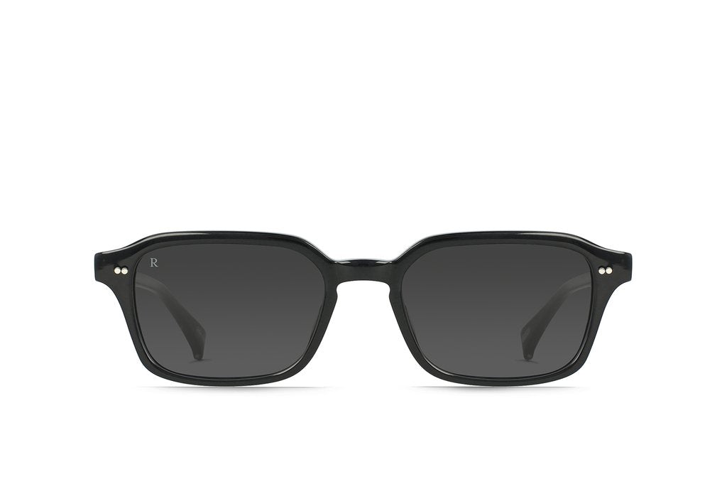 BOYD SUNGLASSES CRYSTAL BLACK / DARK SMOKE