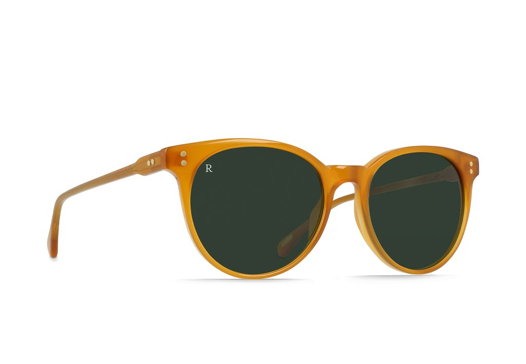 NORIE SUNGLASSES HONEY / BOTTLE GREEN