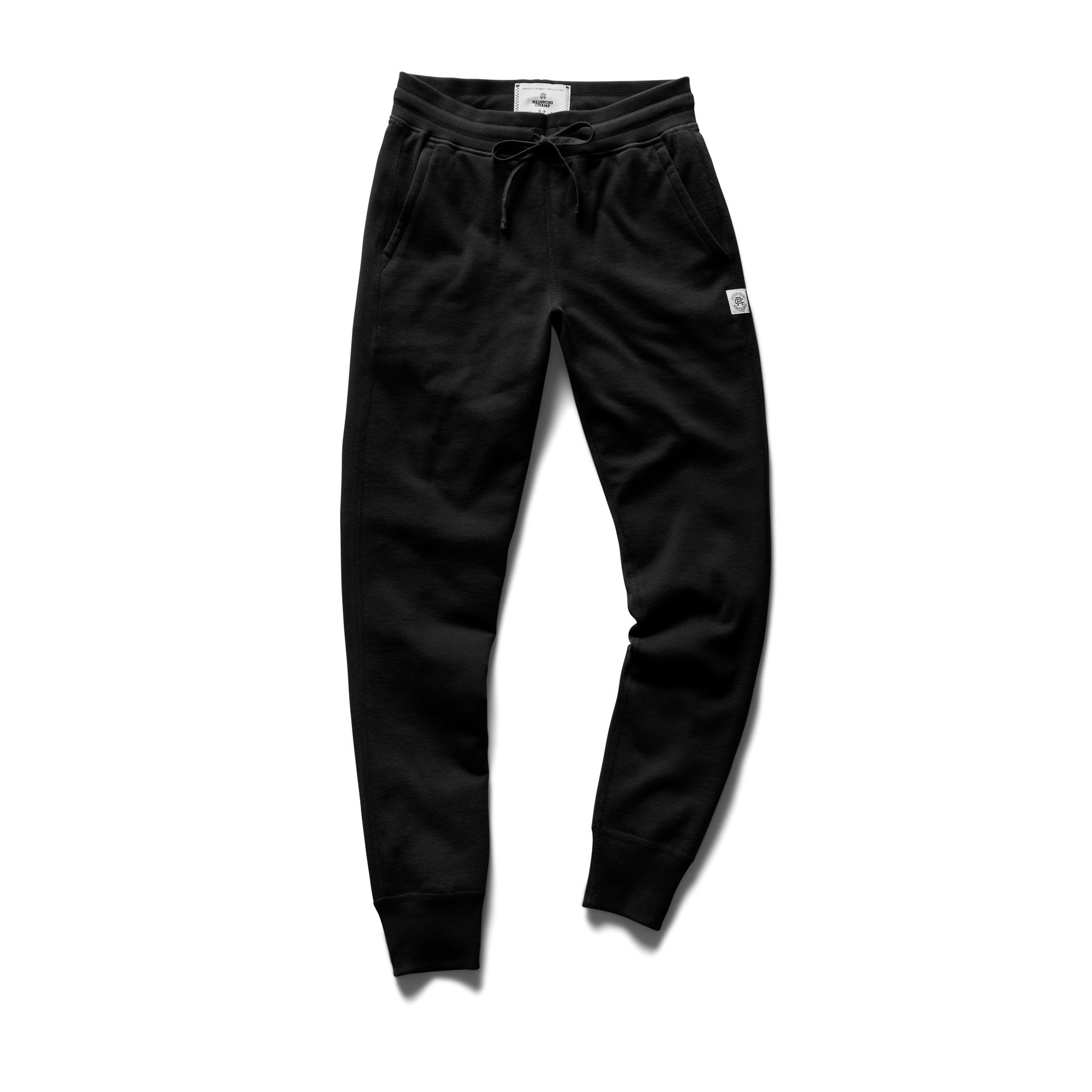 REIGNING CHAMP W'S PANTS BLACK XS SLIM SWEATPANT