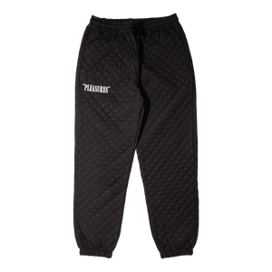 RODMAN QUILTED SATIN PANTS