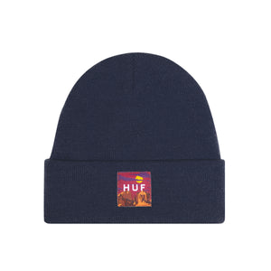 SEDONA LABEL BEANIE - DARK NAVY