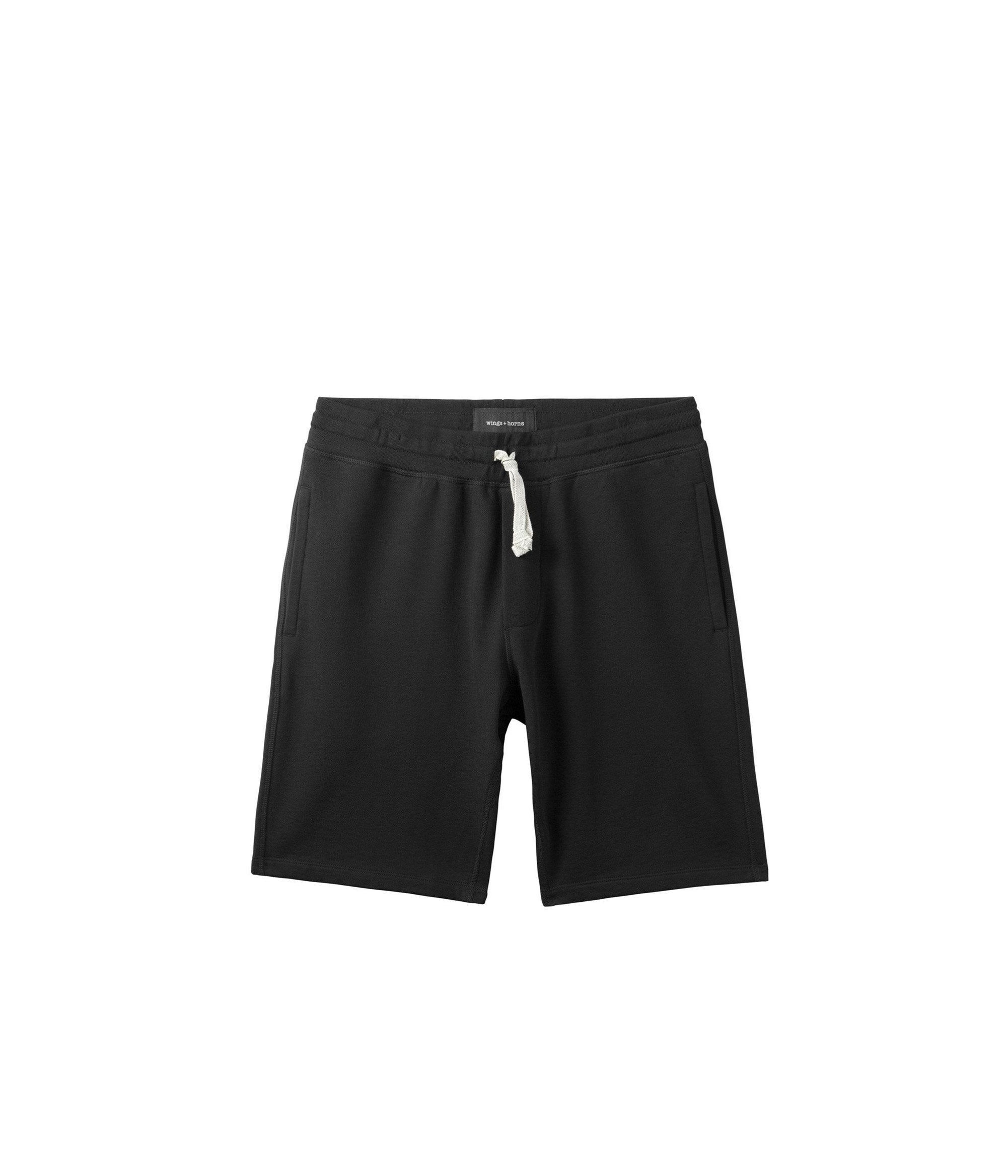 WINGS + HORNS M'S SHORTS BLACK S ORIGINAL SHORT