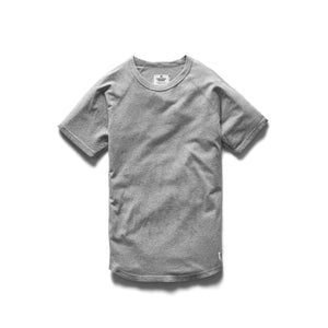 REIGNING CHAMP M'S T-SHIRTS HEATHER GREY L RAGLAN T-SHIRT