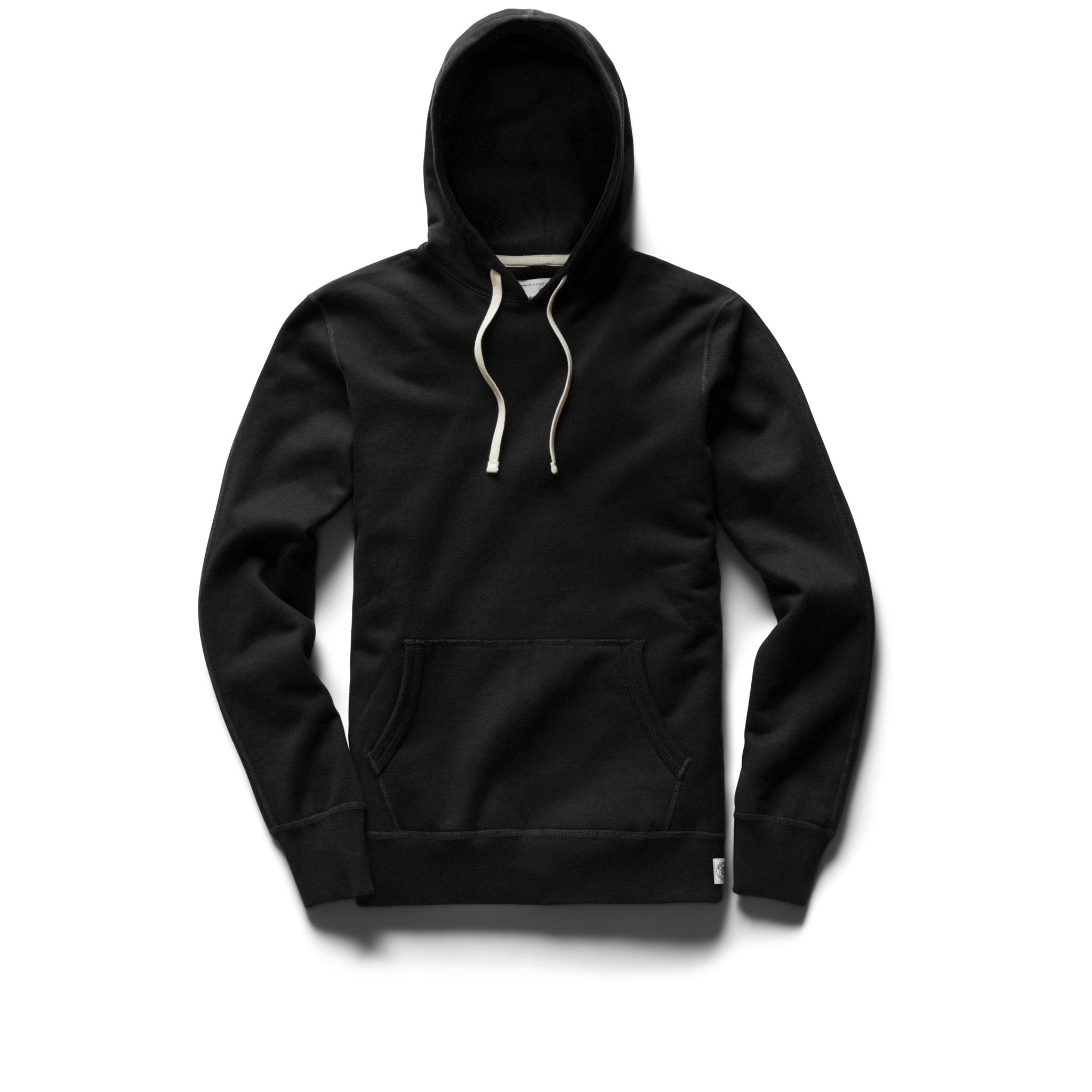 REIGNING CHAMP M'S HOODIES BLACK S PULLOVER HOODIE - MIDWEIGHT TERRY
