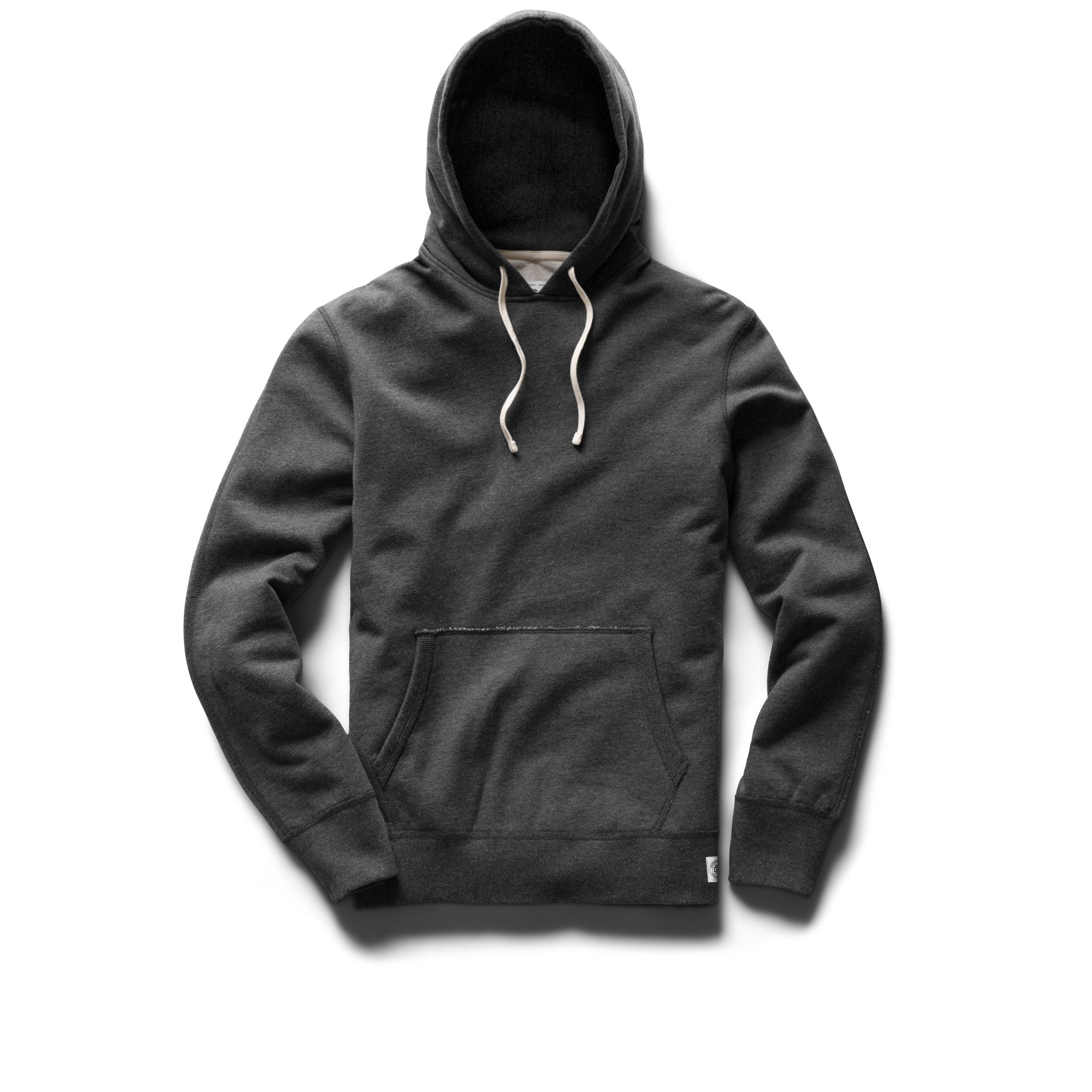 REIGNING CHAMP M'S HOODIES HEATHER CHARCOAL M PULLOVER HOODIE - MIDWEIGHT TERRY