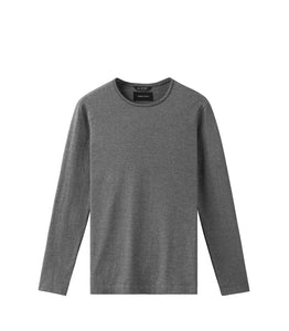 WINGS + HORNS M'S SHIRTS M. BLK S PIMA JERSEY LONG SLEEVE