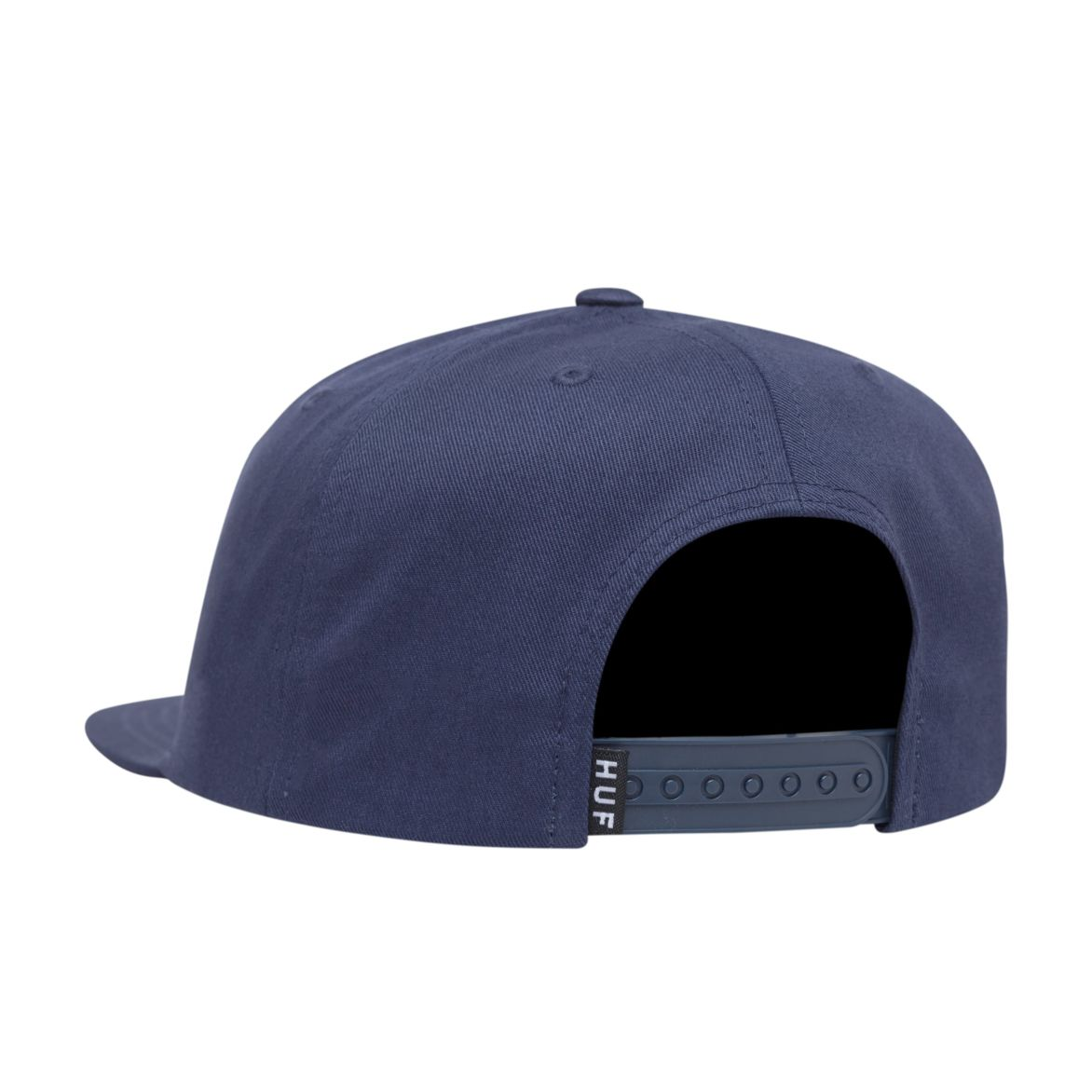 HUF HATS NAVY O/S STOOPS SNAPBACK HAT