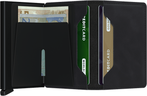 SECRID WALLETS SLIMWALLET VINTAGE BLACK