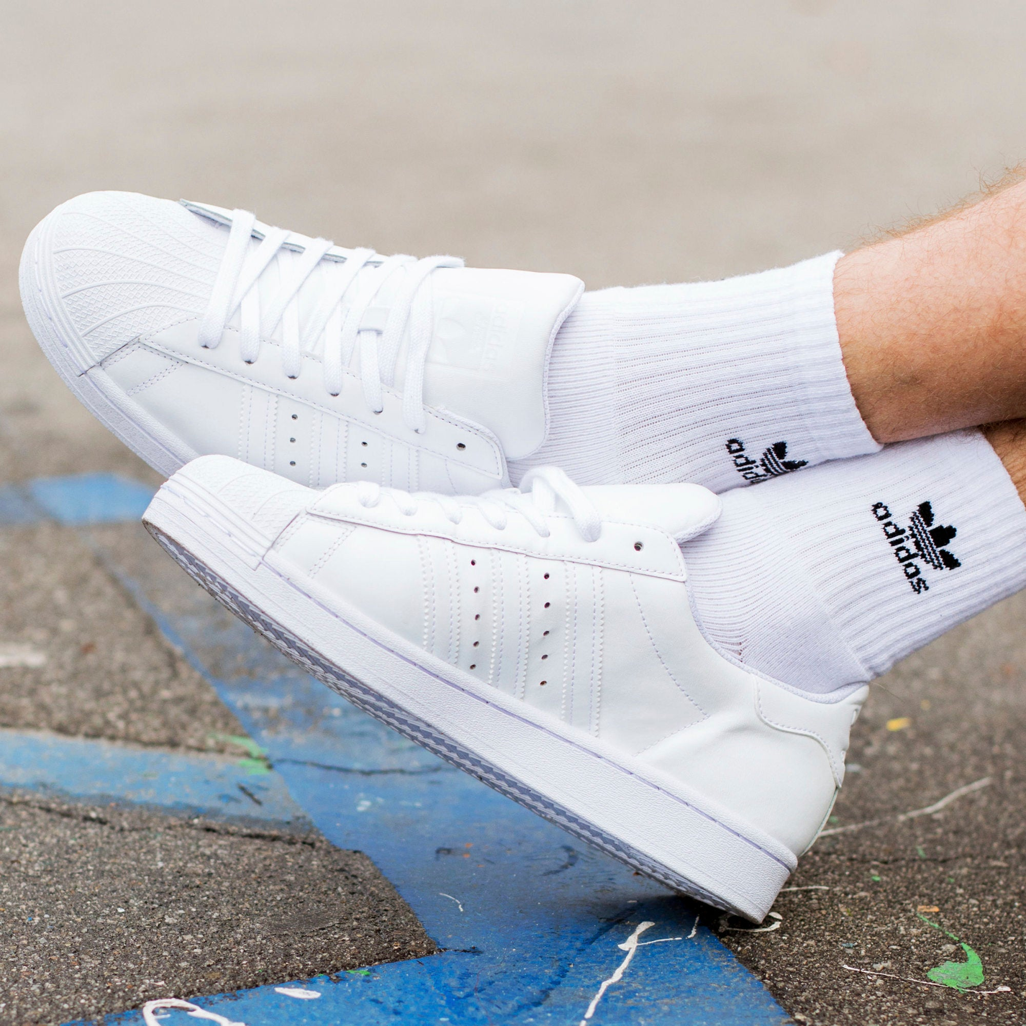 ADIDAS M'S FOOTWEAR SUPERSTAR - CLOUD WHITE/CLOUD WHITE