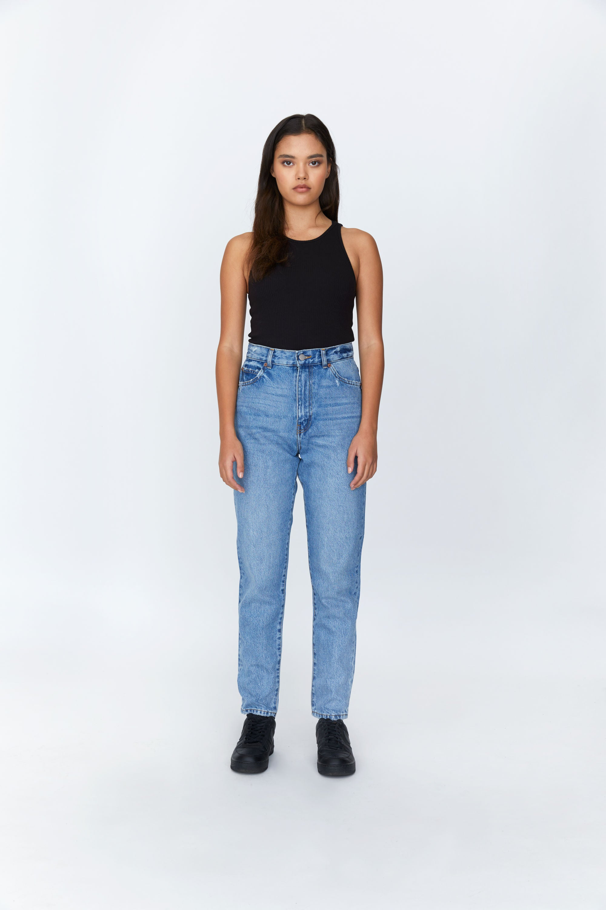 DR. DENIM W'S PANTS NORA JEAN - BLUE JAY