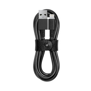 NATIVE UNION ACCESSORIES BLK O/S NATIVE UNION COIL CABLE - LIGHTNING