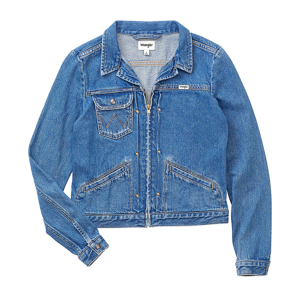 HERITAGE ZIP DENIM JACKET