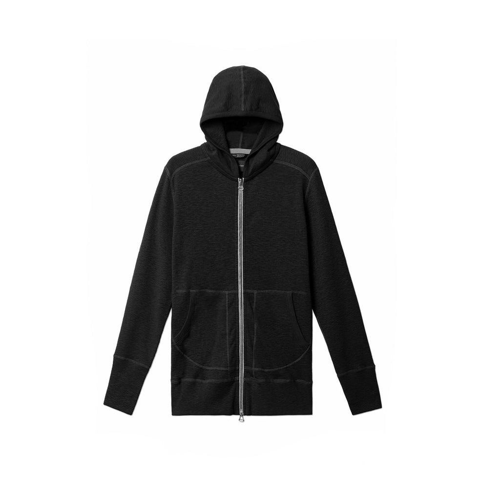 WINGS + HORNS M'S ZIP-UP HOODIES Blk XL BASE ZIP HOODIE
