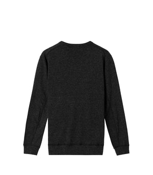 MIXED PILE REVERSIBLE CREWNECK