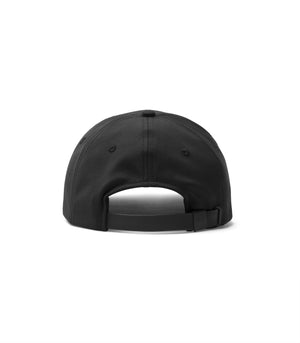 WINGS + HORNS HATS Blk O/S STRETCH WOVEN 6-PANEL HAT