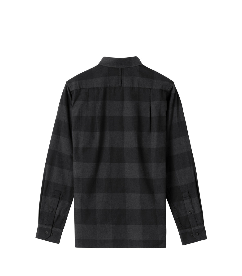 BUFFALO CHECK OFFICER SHIRT