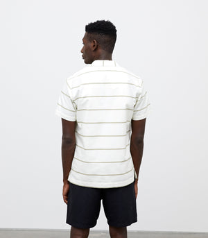 WINGS + HORNS M'S SHIRTS STRIPED DECK SHIRT