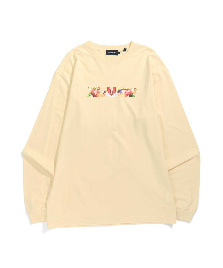 L/S TEE INGREDIENTS STANDARD LOGO - ASSTD