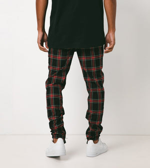 PLAID UNBLOCKSHOT CHINO