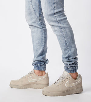 ZANEROBE M'S PANTS SURESHOT DENIM JOGGER MID BLUE