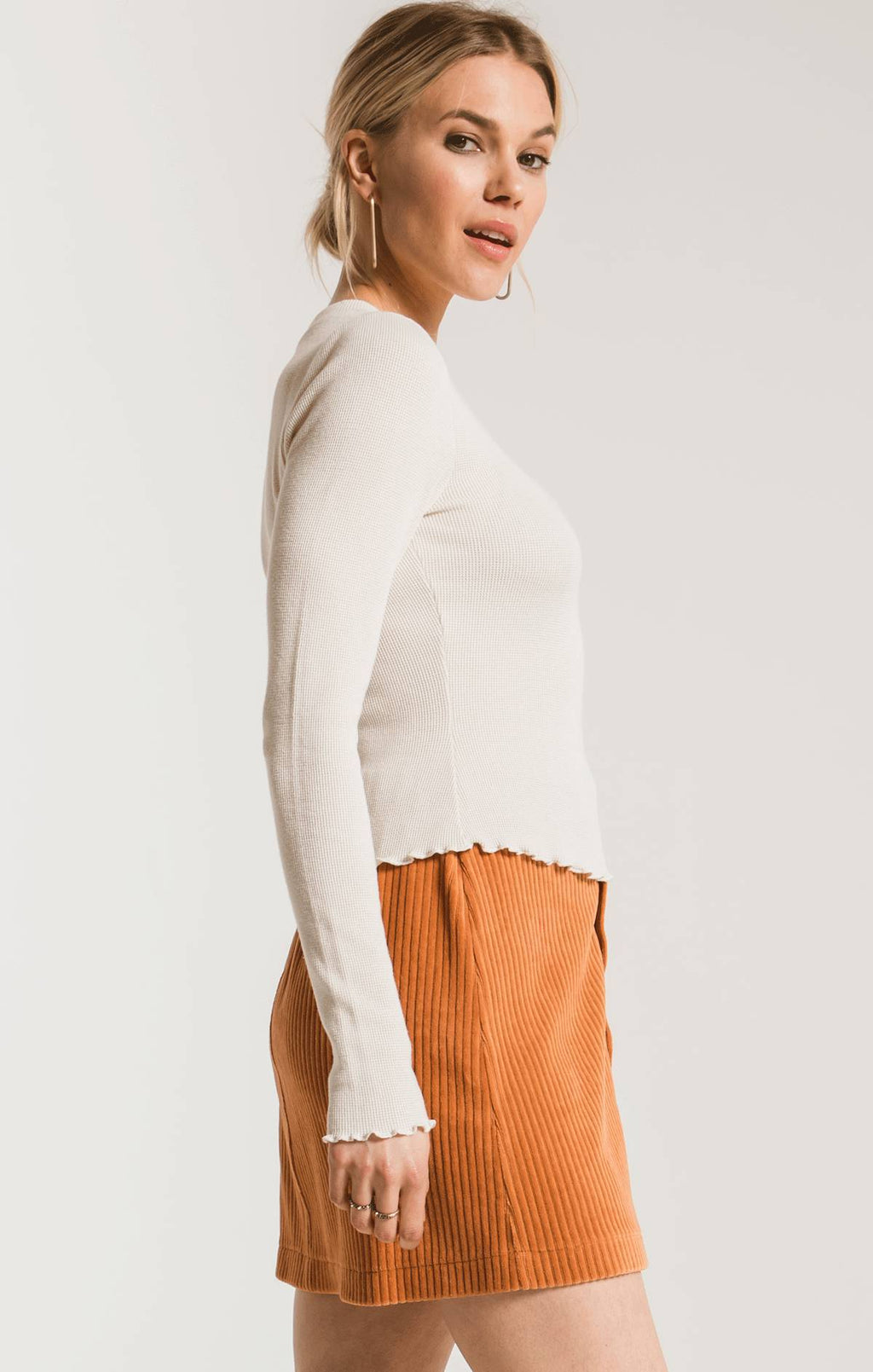 THE FITTED THERMAL LONG SLEEVE TOP