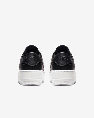 NIKE W'S FOOTWEAR W AIR FORCE 1 SAGE LOW - BLACK/WHITE/BLACK