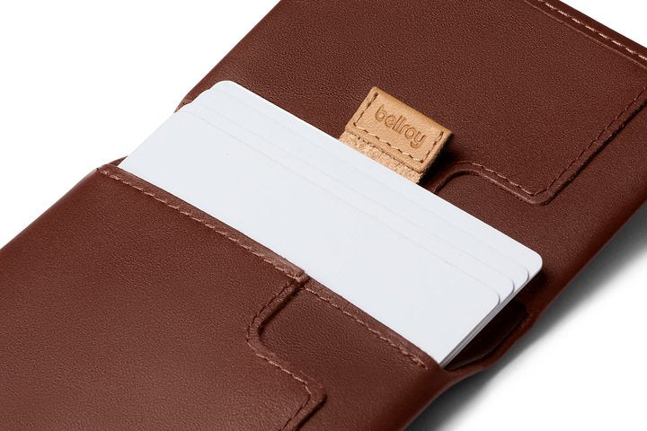 BELLROY WALLETS SLIM SLEEVE WALLET - COCOA