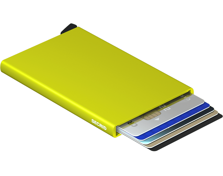 SECRID WALLETS CARDPROTECTOR LIME
