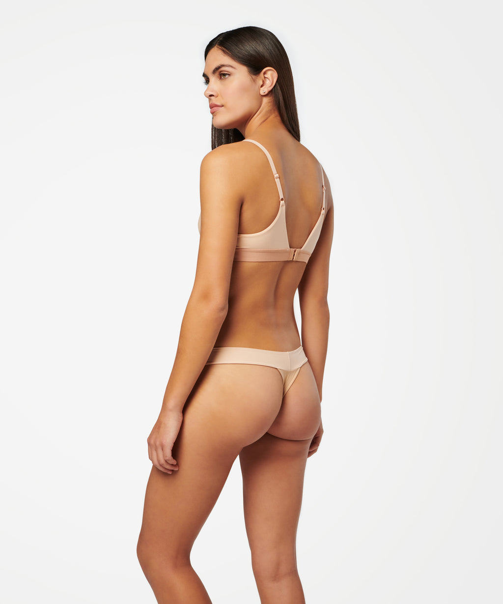 WIDE SIDE THONG NYLON - UNDIES