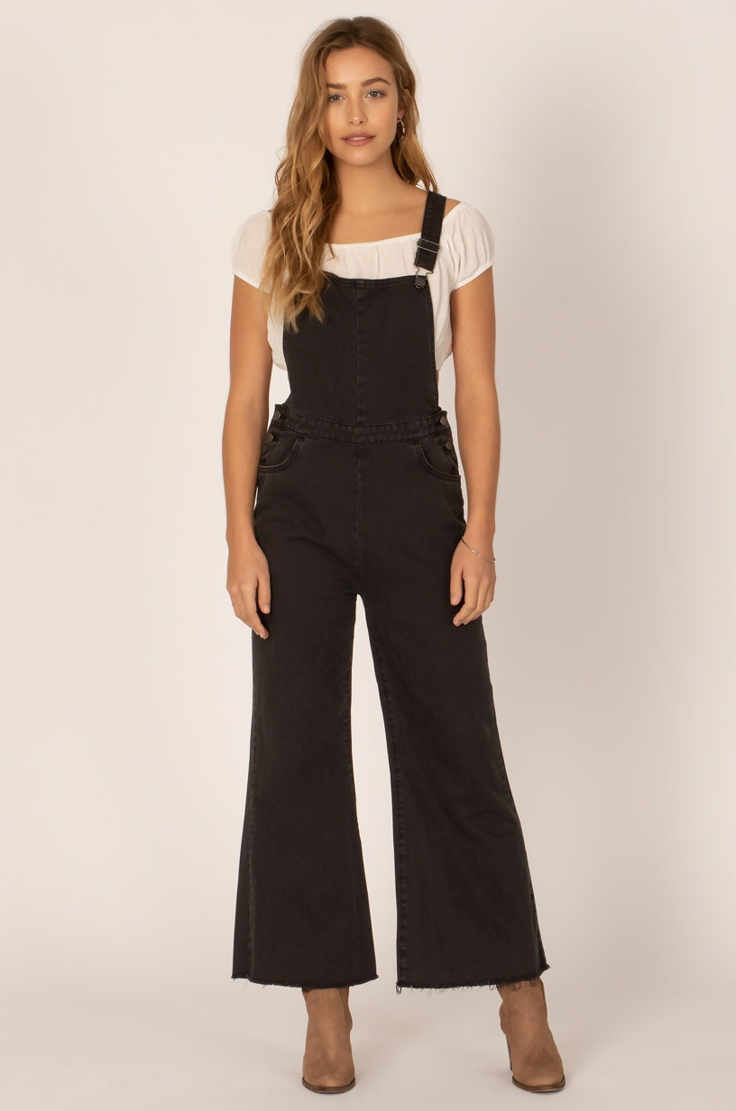 OVERALL GOOD VIBES JUMPER - BLACK FADE