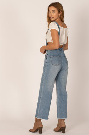 OVERALL GOOD VIBES JUMPER - BLUE WASH