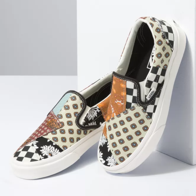 VANS W'S FOOTWEAR TIGER PATCHWORK CLASSIC SLIP-ON