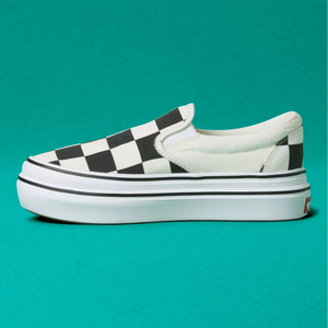VANS W'S FOOTWEAR W BIG CLASSICS CHECKER SUPER COMFYCUSH SLIP-ON