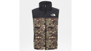 THE NORTH FACE M'S OUTDOOR JKT BURNT OLIVE S 1996 RETRO NUPSTE VEST